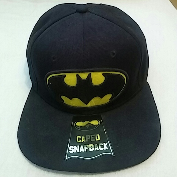 Other - Batman Baseball Cap with Cape